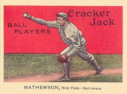 1914 Cracker Jack Christy Mathewson 88 260x193 Image