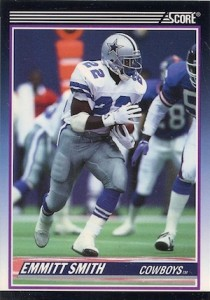 1990 Score Supplemental Emmitt Smith RC 101T 210x300 Image