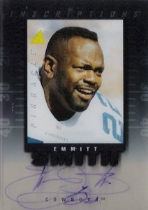 1997 Pinnacle Inscriptions Autographs Emmitt Smith 220 212x300 Image