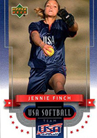 Jennie Finch Cards and Autographed Memorabilia Guide