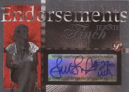 2004 Topps Pristine Personal Endorsements Jennie Finch Autograph