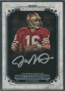 2013 Topps Museum Collection Joe Montana Framed Autographs 214x300 Image