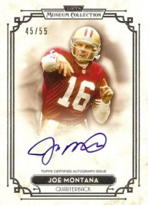 2013 Topps Museum Collection Joe Montana Signature Series Autographs 216x300 Image