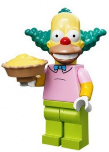 2014 LEGO Simpsons Minifigures Krusty the Clown 217x300 Image