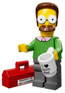 2014 LEGO Simpsons Minifigures Ned Flanders 211x300 Image
