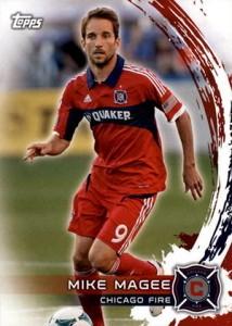 2014 Topps MLS 1 Mike Magee