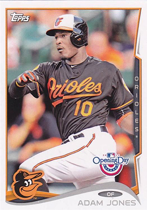 2014 Topps Opening Day 103 Adam Jones
