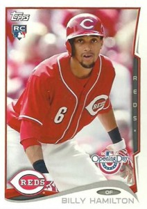 2014 Topps Opening Day Baseball Variations Billy Hamilton