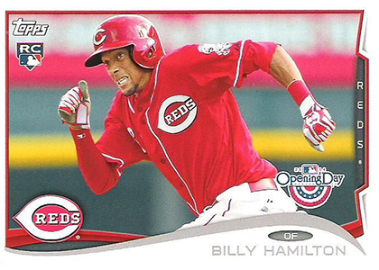 2014 Topps Opening Day Billy Hamilton