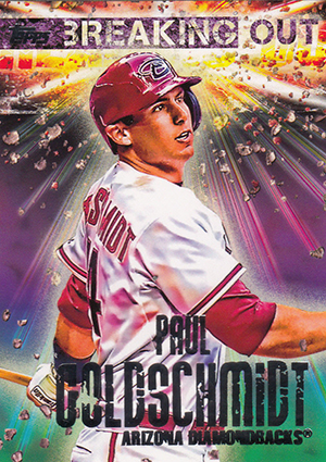 2014 Topps Opening Day Breaking Out Paul Goldschmidt Image