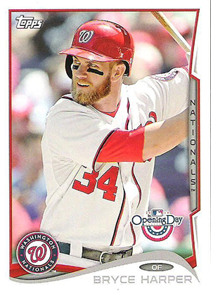 2014 Topps Opening Day Bryce Harper Image