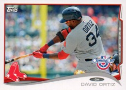 2014 Topps Opening Day David Ortiz