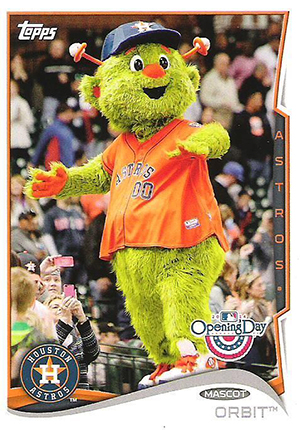 2014 Topps Opening Day Mascots Image