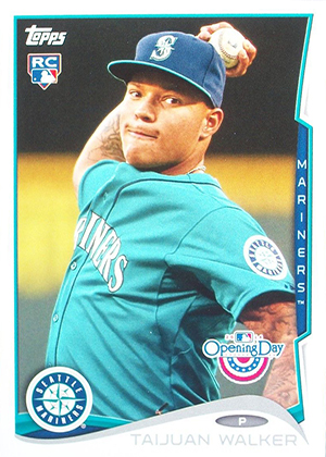 2014 Topps Opening Day Taijuan Walker