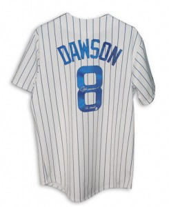 Andre Dawson Signed Jersey