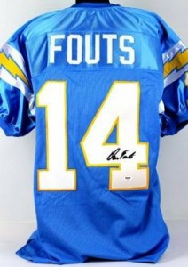 Dan Fouts Signed Jersey