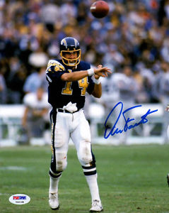 Dan Fouts Signed Photo