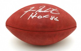 Fran Tarkenton Signed Football 260x165 Image