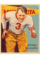 Bronko Nagurski Cards, Rookie Card and Autographed Memorabilia Guide