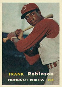 1957 Topps Frank Robinson RC
