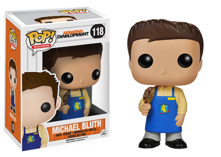 2014 Funko Pop Arrested Development 118 Michael Bluth Banana Stand Image