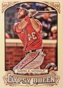 2014 Topps Gypsy Queen Variations 100 Bryce Harper