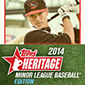 2014 Topps Heritage Minor League Baseball Cards