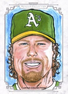 2014 Topps Musuem Collection Baseball Canvas Collection CCR 10 Mark McGwire 217x300 Image