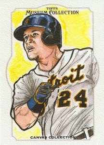 2014 Topps Musuem Collection Baseball Canvas Collection CCR 11 Miguel Cabrera 216x300 Image