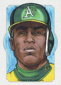 2014 Topps Musuem Collection Baseball Canvas Collection CCR 12 Yoenis Cespedes 216x300 Image