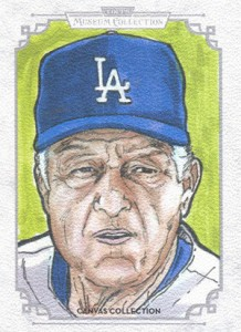 2014 Topps Musuem Collection Baseball Canvas Collection CCR 15 Tommy Lasorda 218x300 Image