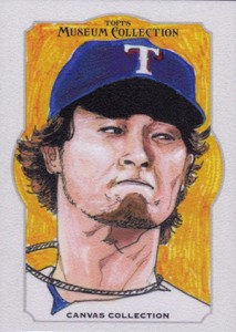 2014 Topps Musuem Collection Baseball Canvas Collection CCR 3 Yu Darvish 213x300 Image