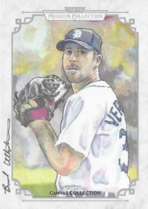 2014 Topps Musuem Collection Baseball Canvas Collection CCR 40 Justin Verlander 213x300 Image