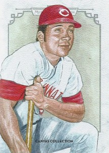 2014 Topps Musuem Collection Baseball Canvas Collection CCR 44 Johnny Bench 214x300 Image