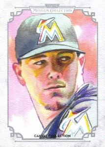 2014 Topps Musuem Collection Baseball Canvas Collection CCR 46 Jose Fernandez 214x300 Image