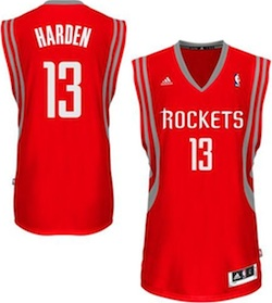 James Harden Jersey Image