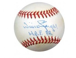 Willie Stargell Signed Ball