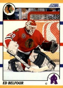 1990-91 Score Rookie Traded Ed Belfour RC