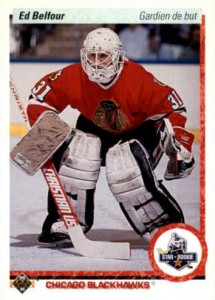 1990-91 Upper Deck French Ed Belfour RC