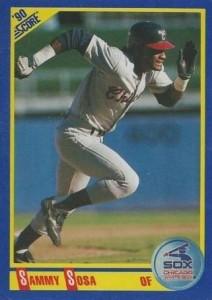 1990 Score Sammy Sosa RC