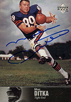 Mike Ditka Cards, Rookie Card and Autographed Memorabilia Guide