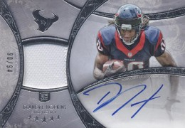 2013 Topps Five Star Rookie Autographed Patch 105 DeAndre Hopkins 260x180 Image