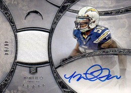 2013 Topps Five Star Rookie Autographed Patch 108 Manti Teo 260x186 Image