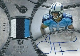 2013 Topps Five Star Rookie Autographed Patch 109 Justin Hunter 260x183 Image