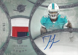 2013 Topps Five Star Rookie Autographed Patch 110 Dion Jordan 260x183 Image