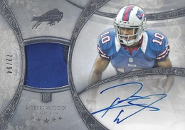 2013 Topps Five Star Rookie Autographed Patch 115 Robert Woods 260x184 Image