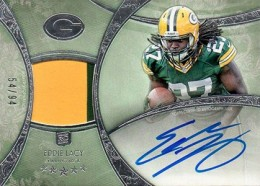 2013 Topps Five Star Rookie Autographed Patch 116 Eddie Lacy 260x186 Image