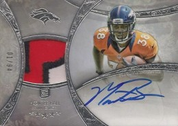 2013 Topps Five Star Rookie Autographed Patch 119 Montee Ball 260x185 Image