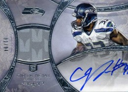 2013 Topps Five Star Rookie Autographed Patch 120 Christine Michael 260x188 Image