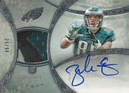 2013 Topps Five Star Rookie Autographed Patch 121 Zach Ertz 260x187 Image